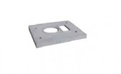 Лёгкая покровная плита SCHIEDEL UNI под комплект FINAL одноходовая с вентиляцией, D 14-16 см