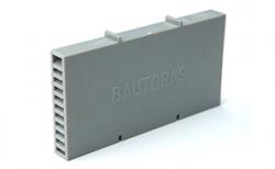 Вентиляционно-осушающая коробочка BAUT светло-серая, 115*60*10 мм