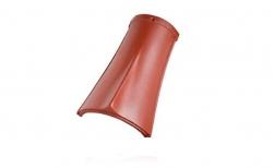 Керамическая черепица коньковая №3 Koramic Biber Natural Red