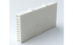 Вентиляционно-осушающая коробочка BAUT белая, 115*60*10 мм