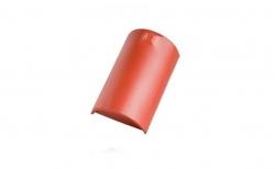 Керамическая черепица конечная коньковая №1 Koramic Biber Natural Red