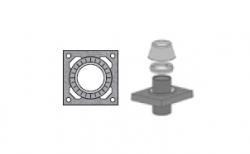 Верхний комплект для дымохода SCHIEDEL UNI без вентиляционного канала под изоляцию 5 см, D 20 см
