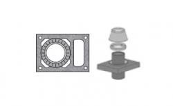Верхний комплект для дымохода SCHIEDEL UNI с вентиляционным каналом под изоляцию 5 см, D 20 см
