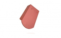 Керамическая черепица 5/4 боковая левая Koramic Biber Natural Red