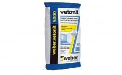 weber.vetonit 5000, серый, 25 кг