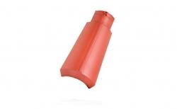 Керамическая черепица коньковая №5 Koramic Biber Natural Red