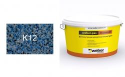 weber.pas marmolit k12, 25 кг