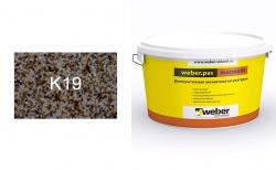 weber.pas marmolit k19, 25 кг