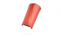 Керамическая черепица конечная коньковая №2 Koramic Biber Natural Red