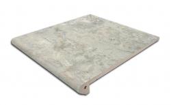 Клинкерная ступень-флорентинер Gres Aragon Itaca Gris, 300*293*14(36) мм