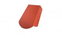 Керамическая черепица 5/4 боковая правая Koramic Biber Natural Red