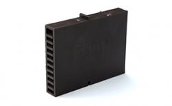 Вентиляционно-осушающая коробочка BAUT коричневая, 80*60*10 мм