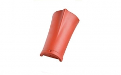 Керамическая черепица конечная коньковая №3 Koramic Biber Natural Red