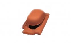 Проходной комплект для вентиляции Koramic Alegra 15 Deep Black Noble Engobe