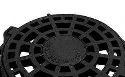 Дождеприемник Gidrolica ДК круглый чугунный, 840*840*100 мм