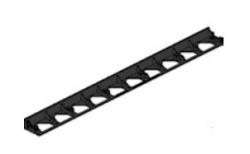 Бордюр Gidrolica Line Б-100.8.4.5 пластиковый черный, 1000*80*45 мм