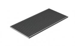 Придверная решетка Gidrolica Step Pro оцинкованная, 990*490*20 мм