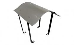 Зонтик SCHIEDEL UNI Napoleon под обмуровку с вентиляцией 70*84 см, D 14-16 см