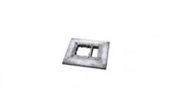 Консольная плита SCHIEDEL UNI одноходовая с вентиляцией, 58*58 см
