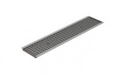 Решетка водоприемная Gidrolica Standart DN200 РВ-20.24.100 кл. В125 оцинкованная, 1000*237*22 мм