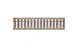 Решетка водоприемная Gidrolica Standart DN200 РВ-20.24.100 кл. А15 стальная, 1000*236*15 мм