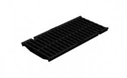 Решетка водоприемная Gidrolica Super DN200 РВ-20.24.50 кл. D400 чугунная, 500*240*21 мм