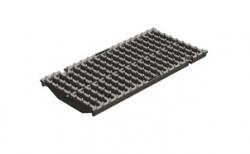 Решетка водоприемная Gidrolica Super DN200 РВ-20.24.50 кл. Е600 чугунная, 500*240*21 мм