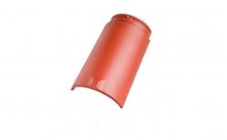 Керамическая черепица начальная коньковая №1 Koramic Biber Natural Red