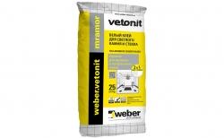 weber.vetonit mramor, белый, 25 кг