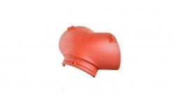 Керамическая черепица начальная вальмовая №1 Koramic Biber Natural Red
