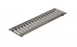 Решетка водоприемная Gidrolica Standart РВ-10.13,6.50 кл. А15 оцинкованная, 500*136*20 мм