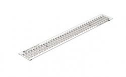 Решетка водоприемная с отверстиями для крепления Gidrolica Standart РВ-10.13,6.100 кл. А15, 1000*136*20 мм