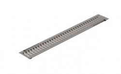 Решетка водоприемная Gidrolica Standart РВ-10.13,6.100 кл. А15 стальная, 1000*136*20 мм