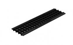 Решетка водоприемная Gidrolica Standart РВ-10.13,6.50 кл. А15 пластиковая, 500*137,8*16,5 мм
