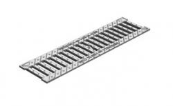 Решетка водоприемная Gidrolica Standart РВ-10.13,6.50 кл. С250 чугунная оцинкованная, 500*136*13 мм