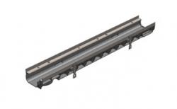 Лоток водоотводный Gidrolica Super DN100 ЛВ-10.14,5.08 кл. Е600, 1000*149*81,5 мм