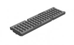 Решетка водоприемная Gidrolica Pro РВ-10.13,5.50 кл. С250 пластиковая, 500*138*21 мм