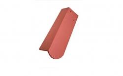 Керамическая черепица половинчатая боковая левая Koramic Biber Natural Red