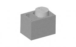 Комплект блок-опора SCHIEDEL UNI одноходовой 0,33 п.м, 32*46 см, D 14L-16L см