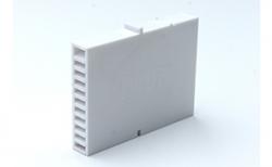 Вентиляционно-осушающая коробочка BAUT белая, 80*60*10 мм