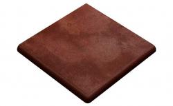 Клинкерная угловая ступень-флорентинер Gres Aragon Duero Roa, 330*330*14(36) мм