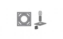 Верхний комплект для дымохода SCHIEDEL UNI без вентиляционного канала под обмуровку кирпичом, D 16 см