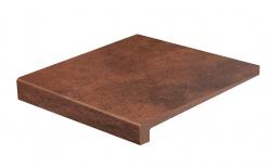 Клинкерная ступень с прямым носиком Gres Aragon Duero Roa, 315*293*14(38) мм