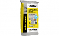 weber.vetonit block winter 25 кг
