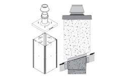 Комплект базовый SCHIEDEL UNI UraTOP двухходовой с вентиляцией 1,5 п.м, D 16/16 см