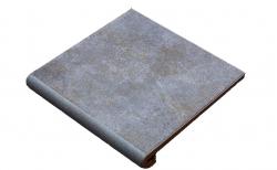 Клинкерная ступень-флорентинер Gres Aragon Mytho Acero, 330*325*18(53) мм