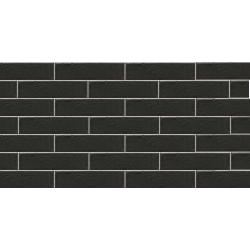 Cerrad Foggia Nero 1917 плитка фасадная структурная 6,5×24,5