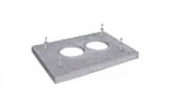Лёгкая покровная плита SCHIEDEL UNI под изоляцию двухходовая без вентиляции, 56*87 см