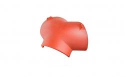 Керамическая черепица конечная вальмовая №1 Koramic Biber Natural Red