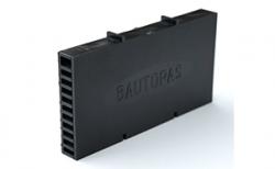 Вентиляционно-осушающая коробочка BAUT черная, 115*60*10 мм